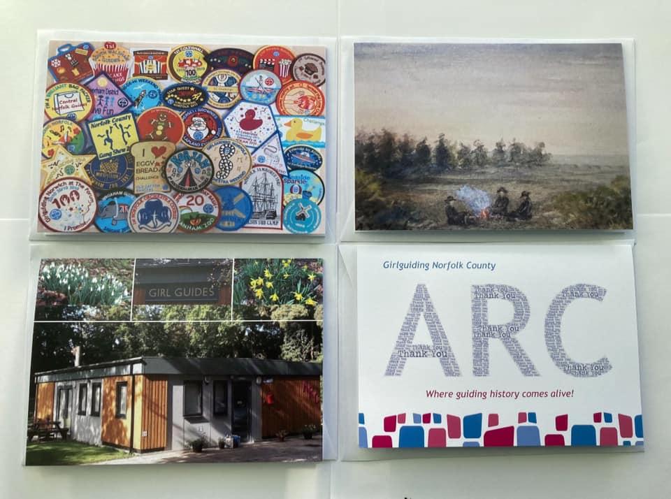 Image of ARC postacrds