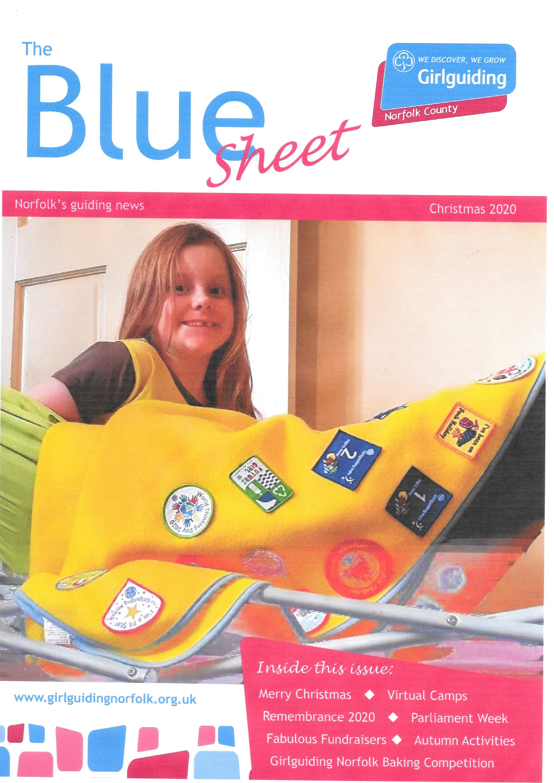 Front cover of the Blue Sheet