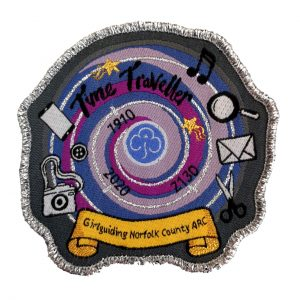 Time Traveller badge